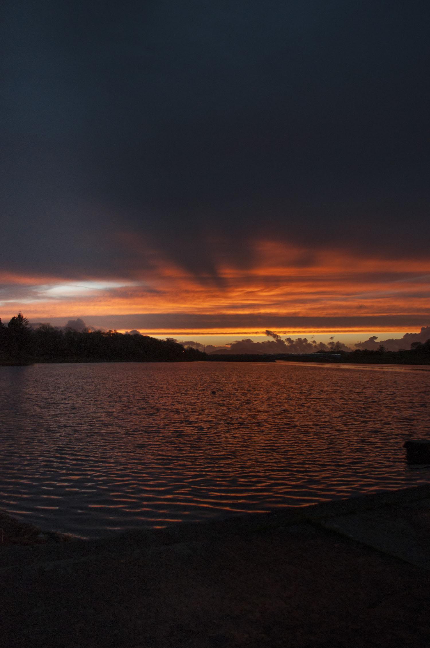 Lough Lannagh Skies