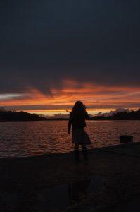 Lough Lannagh Sunset pier
